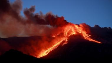 VIDEO. Etna, cel mai activ vulcan din Europa, a erupt din nou