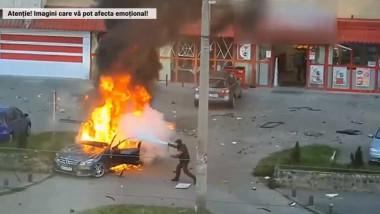 masina explozie arad