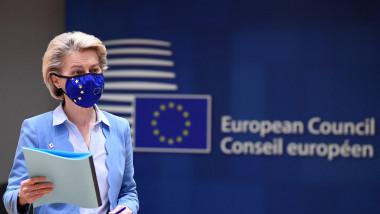 Președinta Comisiei Europene, Ursula von der Leyen