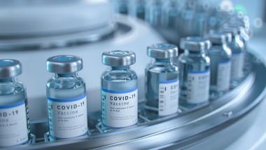 linie de productie vaccin anti-covid 19
