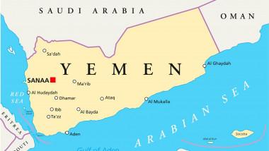 Hartă Yemen
