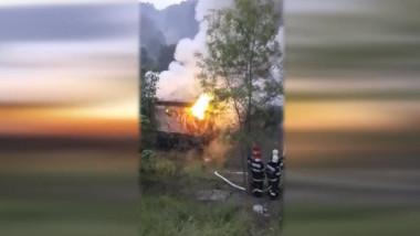 incendiu casa digi