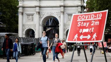 Londra restricții Covid