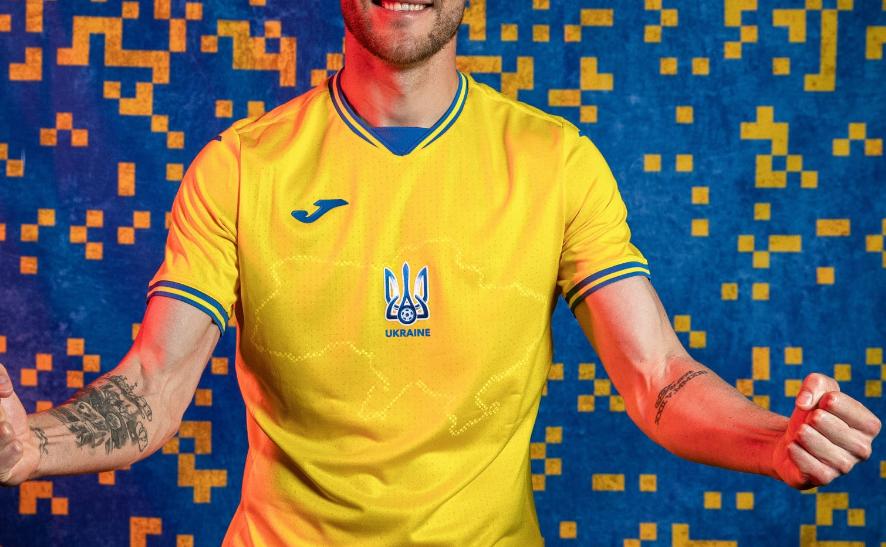 Noul echipament al Ucrainei pentru Euro provoaca furie in Rusia. Oficiali de la Moscova cer UEFA sa ia masuri