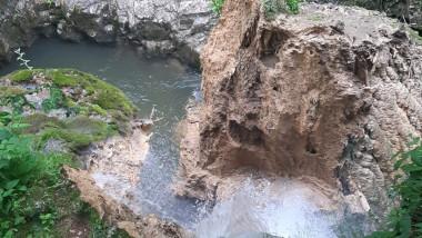 Cascada Bigăr s-a prăbușit