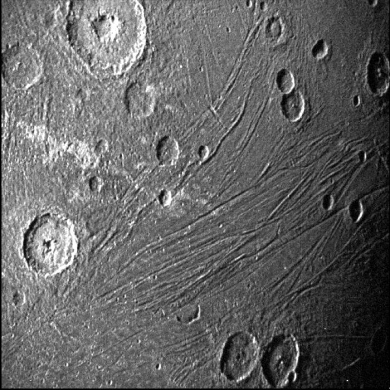 Giunone lunedì ha superato Ganimede, il satellite congelato di Giove