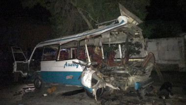 AFGHANISTAN KABUL BUS BOMB ATTACK