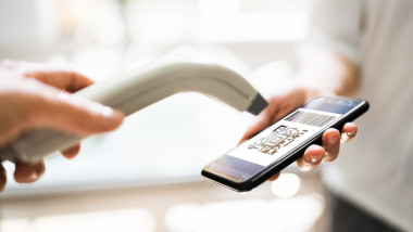 Using Mobile Phone To Scan Payment Code