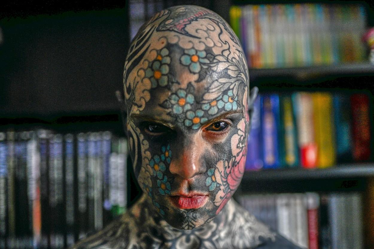 tatuaje Sylvain Hélaine profimedia-0559401218