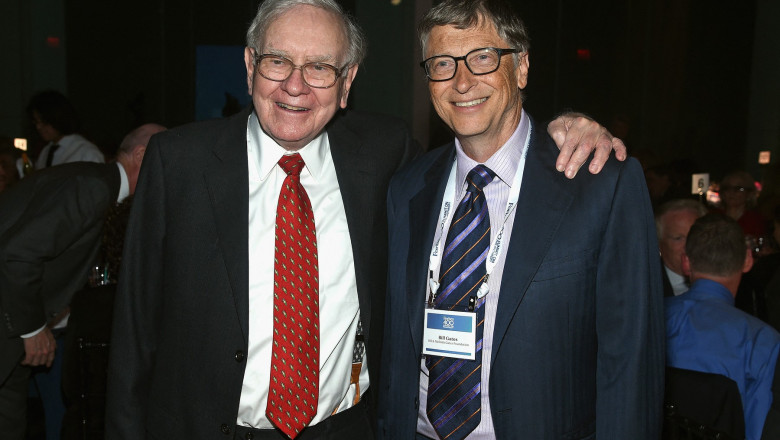 Bill Gates și Warren Buffett