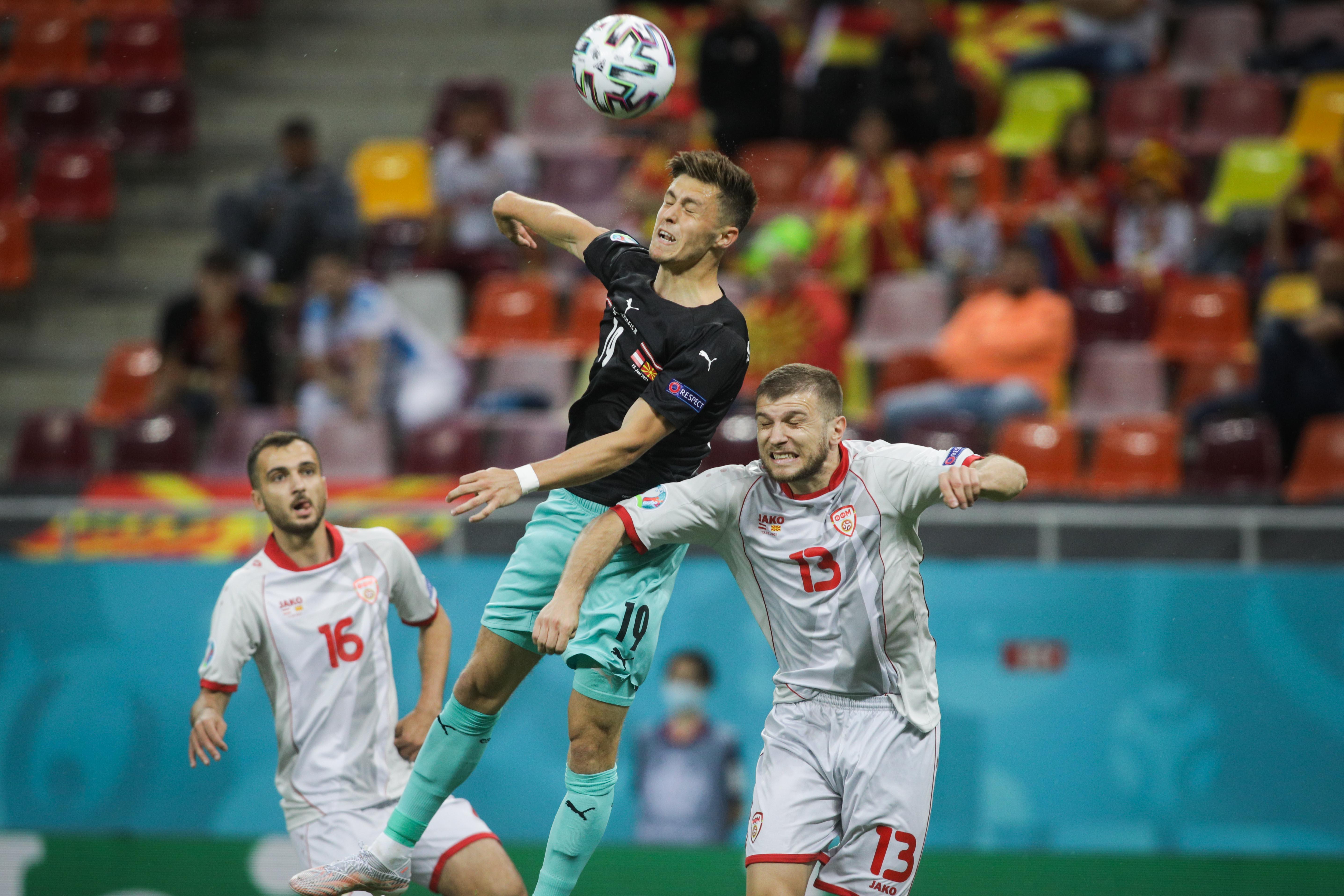 meci fotbal austria macedonia de nord