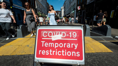 Possible delay to lifting of complete lockdown restrictions, LONDON, UK - 12 Jun 2021