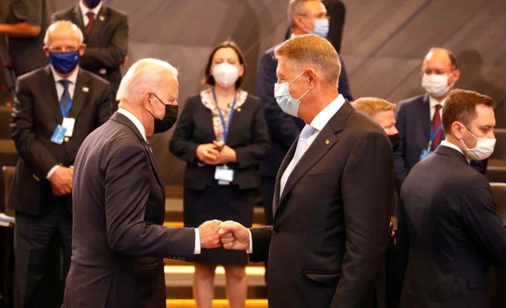 Klaus Iohannis, discutie cu Joe Biden: L-am invitat in Romania. A fost perfect de acord sa incercam sa organizam o astfel de intalnire