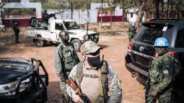 Mercernar rus- Republica Centrafricană