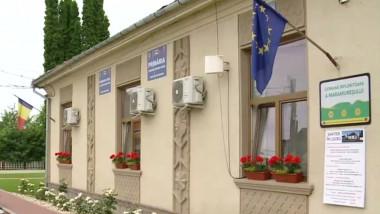 Primaria comunei Mireșu Mare.