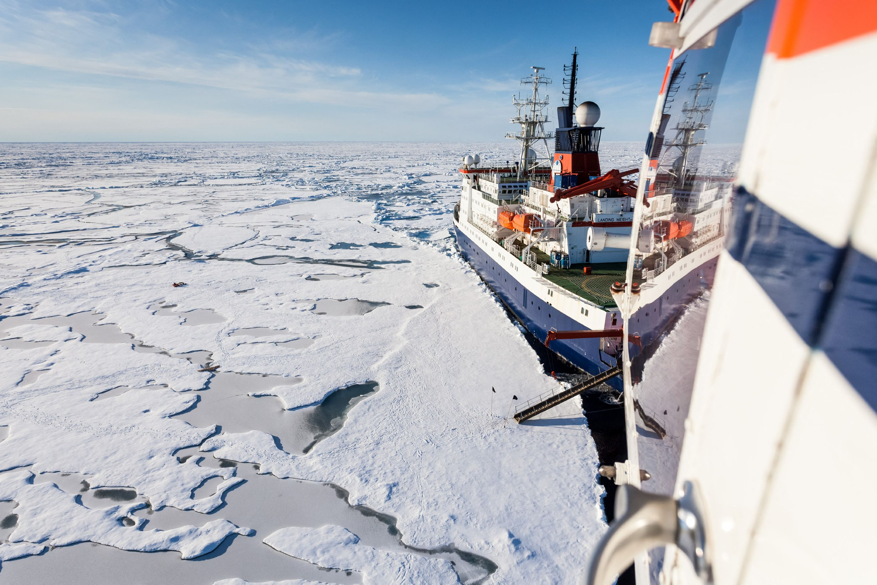 Biggest North Pole Mission Returns From 'Dying Arctic'