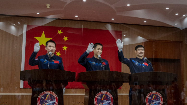 China Prepares To Launch Astronauts To Space Station