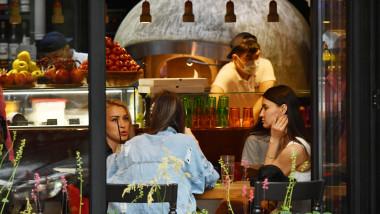 coronavirus restricții terasa moscova restaurant