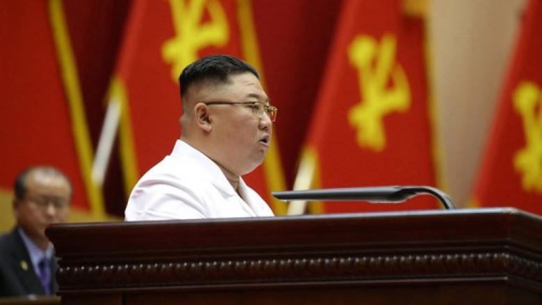Kim Jon-un la Comitetul Central al Partidului Muncitorilor din Coreea de Nord