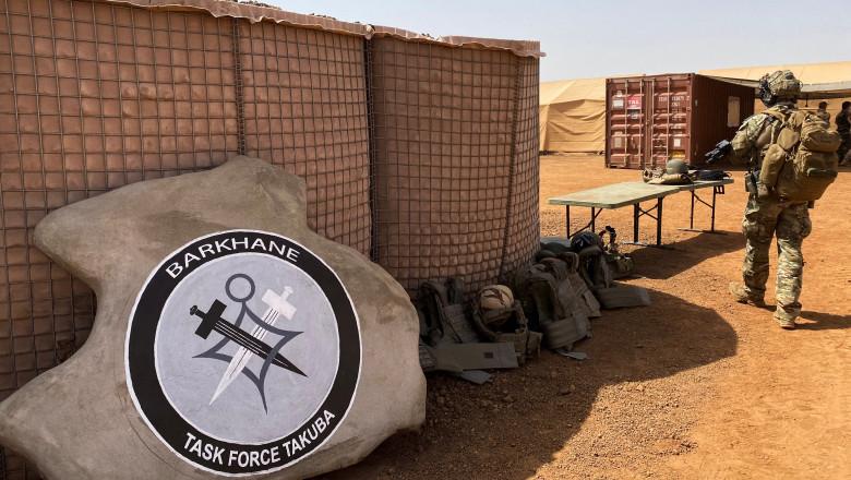 Militar al forțelor aliate Takuba din Sahel