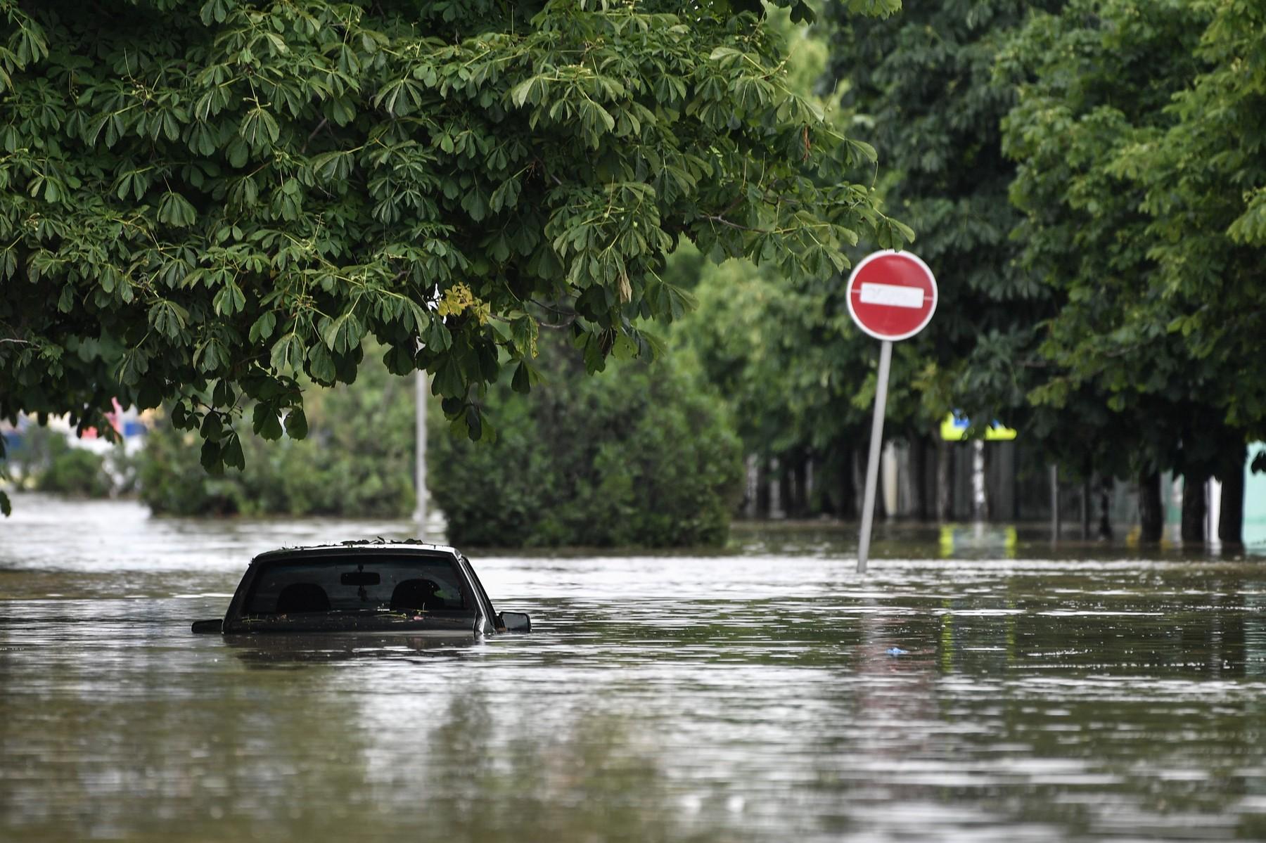 Russia Heavy Rains Aftermath