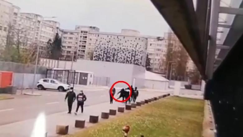 Momentul atacului de la Timișoara