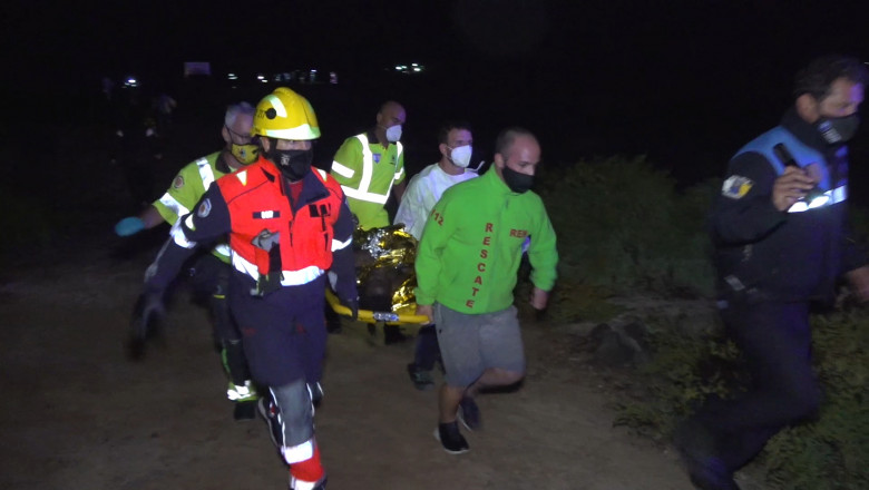 Several dead and injured after a boat runs aground near the dock of Orzola (Lanzarote)