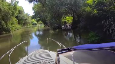 barca salupa delta dunarii