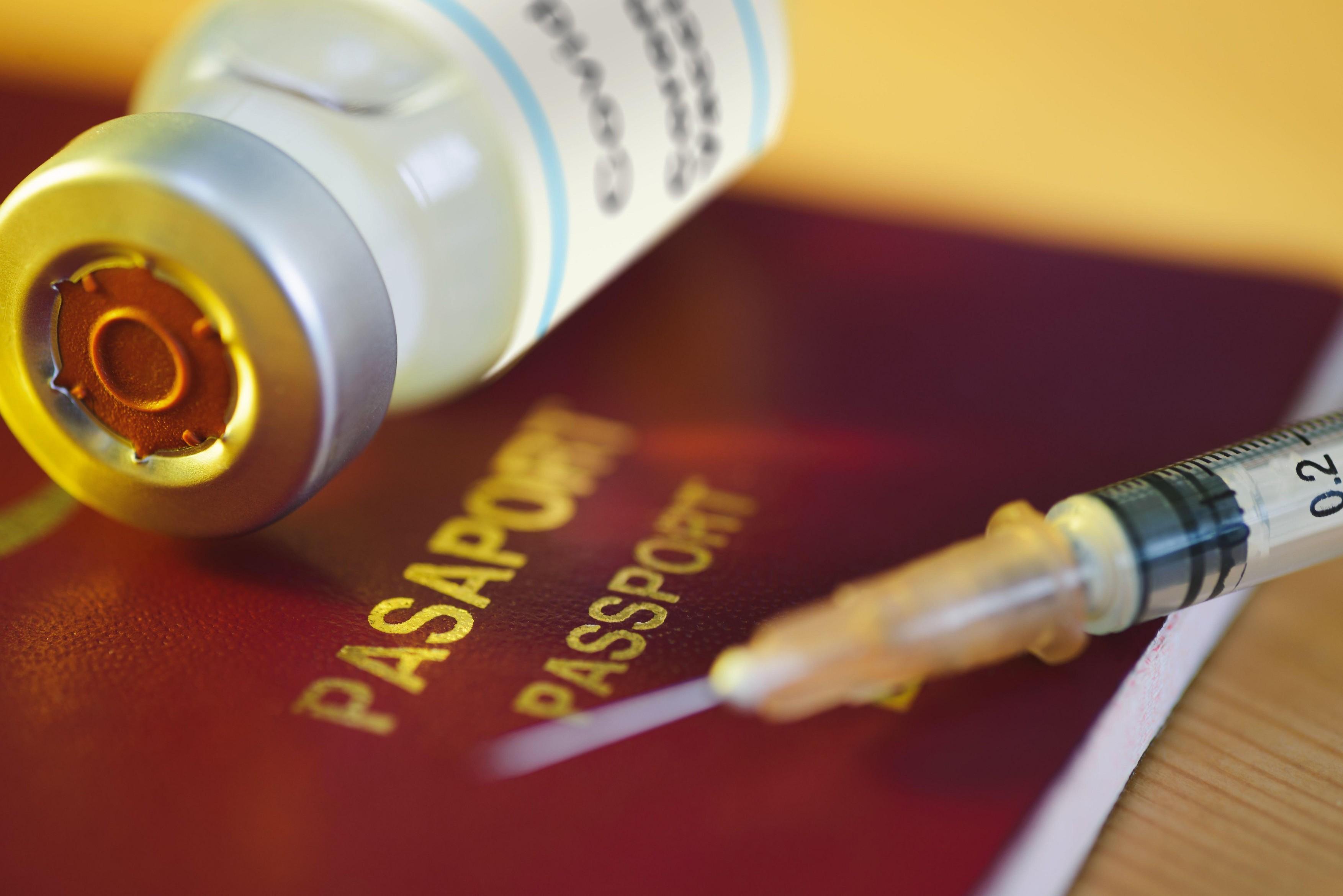 vaccin pasaport seringa