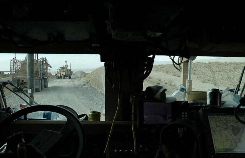 U.S. Army Clears Roads Of IEDS In Afghanistan