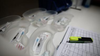 seringi centru de vaccinare vaccin