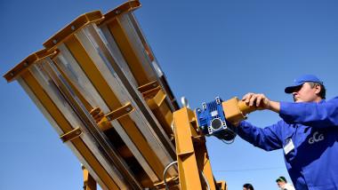 sistem de lansare a rachetelor antigrindina