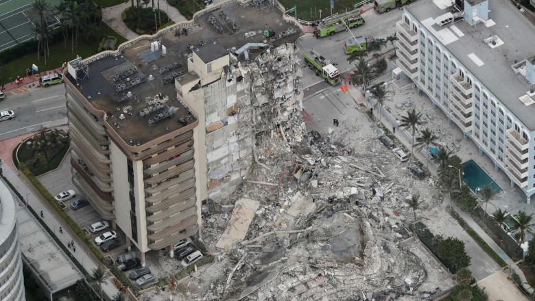 Building Collapse Near Miami Beach