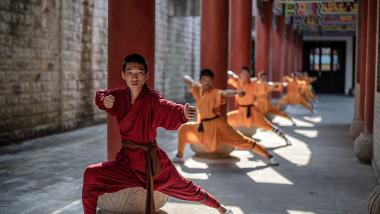 Provincia Henan, unde a avut loc incendiul, e renumită pentru templele Shaolin Kung Fu. Foto: Profimedia Images