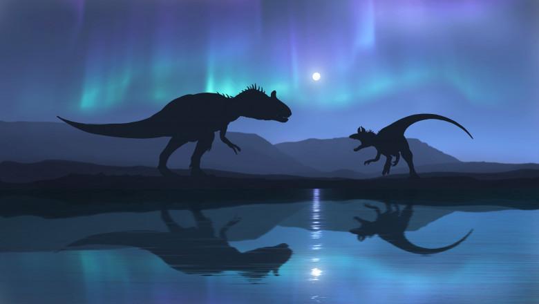 dinozauri arctica aurora boreala