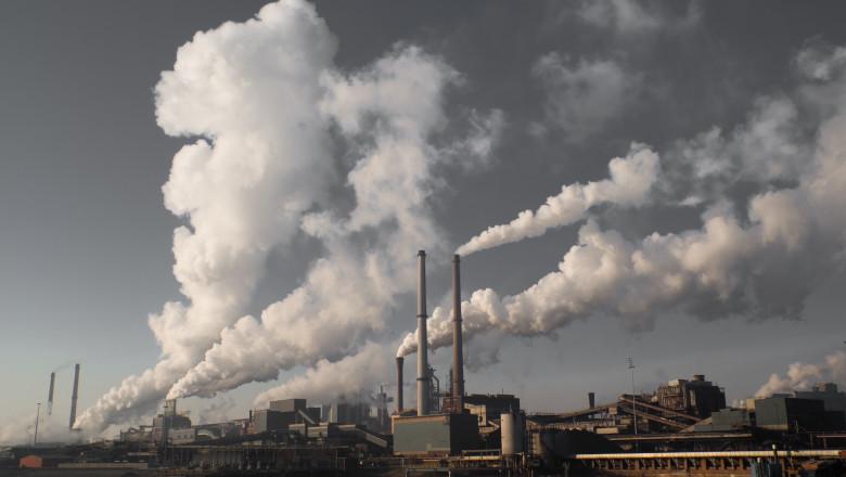 Emisii de gaze risipite în atomosferă