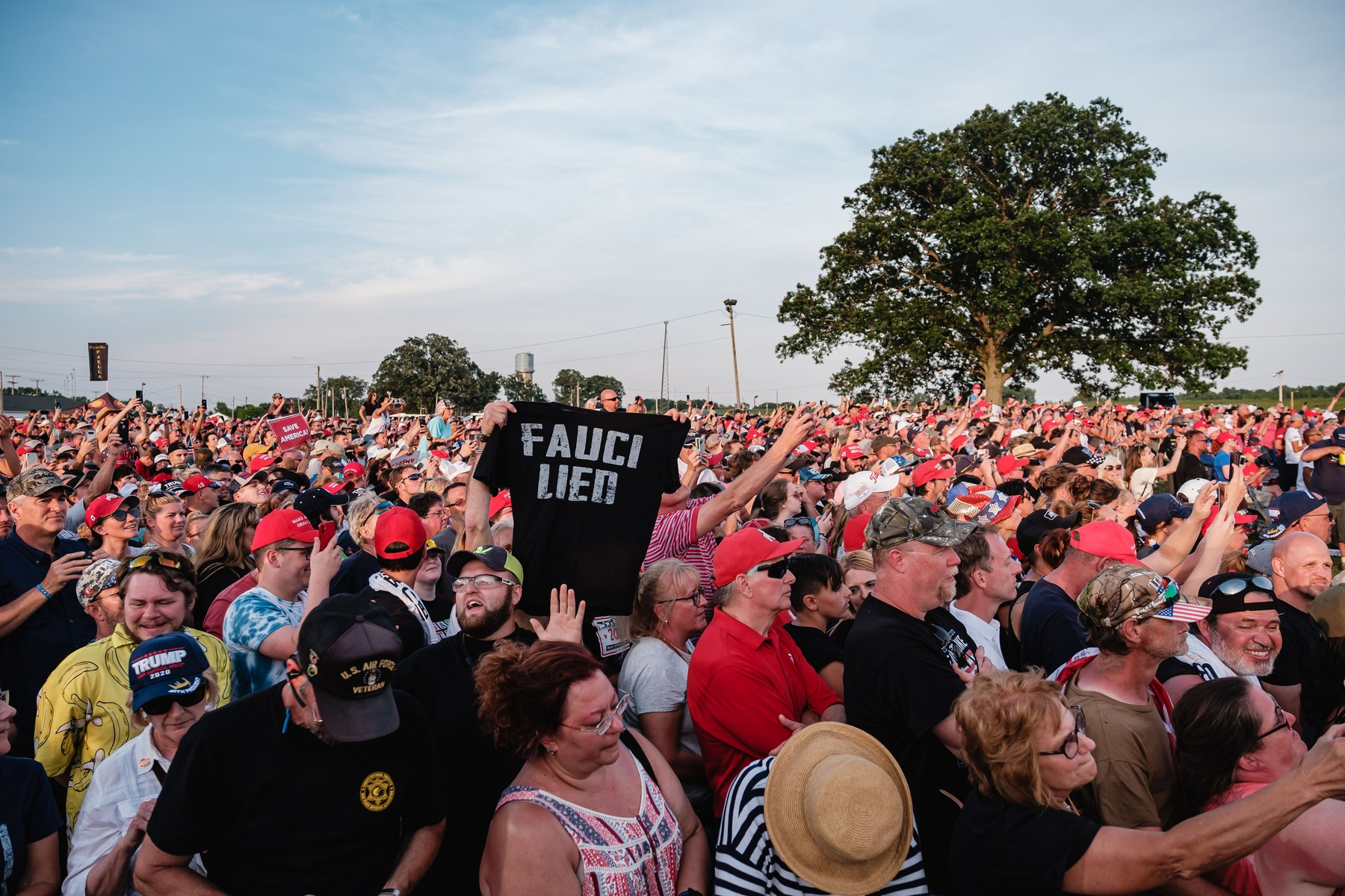 Donald Trump Holds First Save America Rally