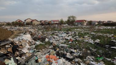 2 aprilie 2021, Bolintin-Vale, jud Giurgiu deseuri camp case