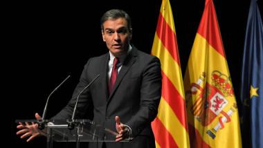 Pedro Sanchez anunta gratierea liderilor separatisti din Catalonia.