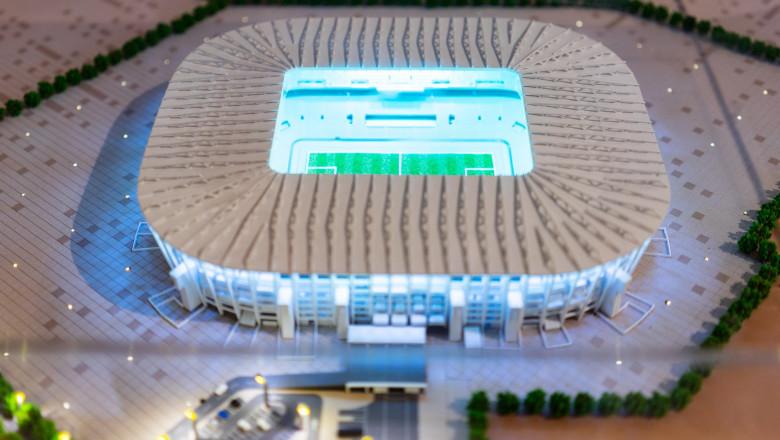 stadion Ras Abu Aboud qatar fotbal