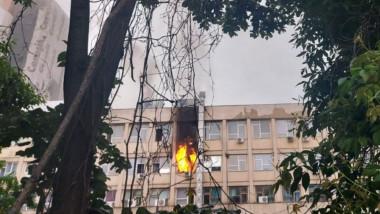 """Incendiu la Spitalul de Copii """"Sfânta Maria"""" din Iași - ziaruldeiasi"""