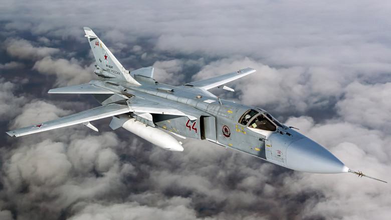 Avion rusesc de atac Suhoi Su-24