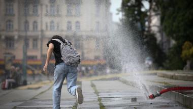 First Summer Heatwave Reaches Poland, Warsaw - 22 Jun 2021