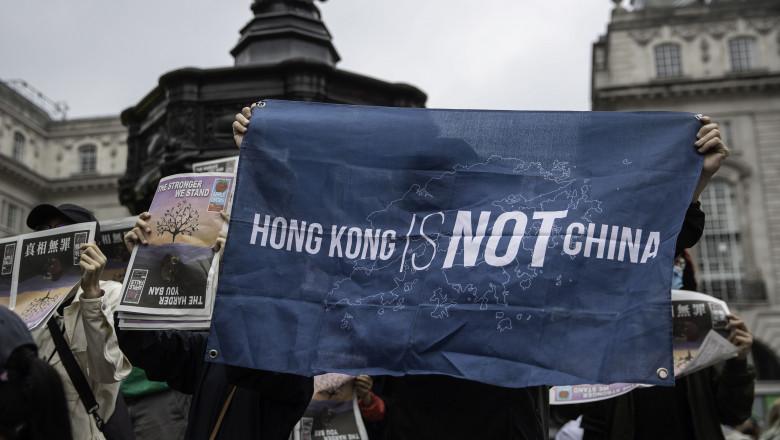 manifestații pro-democrație în Hong Kong