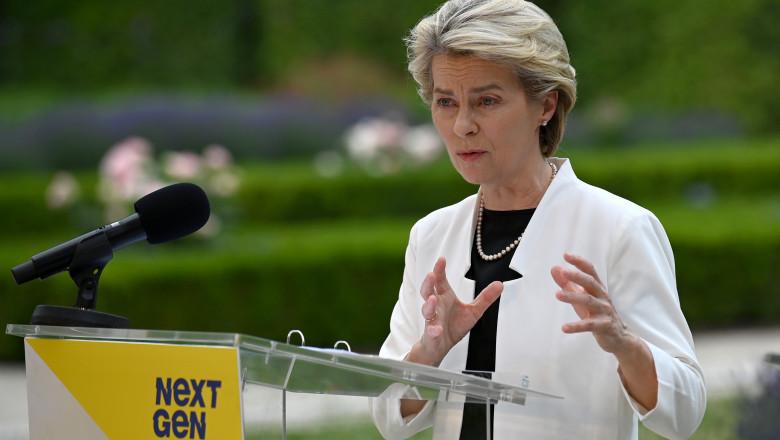 Ursula von de Leyen, președintele Comisiei Europene, în turneul de validare a câtorva dintre planurile naționale de Redresare și Reziliență ale statelor membre.