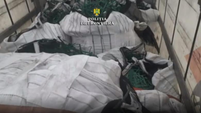 deseuri ilegale oprite in vama de politistii de frontiera