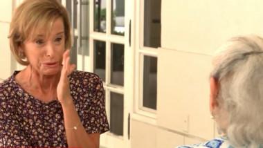 jurnalista cnn plange in timpul unui interviu