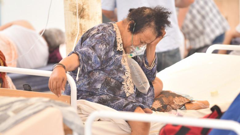 pacient covid Beja, Tunisia
