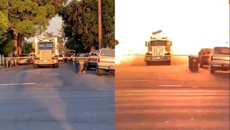 camion explozie sua
