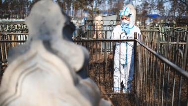 Număr record de decese zilnice în Rusia din cauza COVID